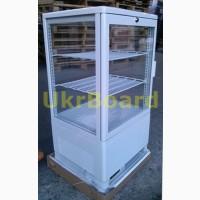 Витрина холодильная настольная кондитерская барная бу, новая, настольный кондитерский шкаф
