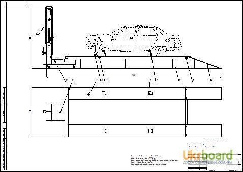 Схема стапель для кузовного ремонта