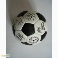 Футбольный мяч натур кожа, украинского производства