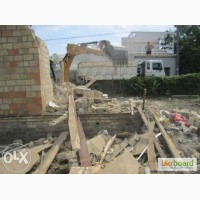 Демонтаж деревянных домов. Снос частного дома дачи