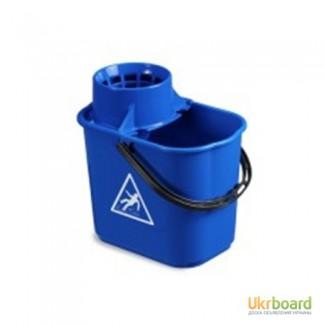 Ведро EASY с отжимом синее 14л