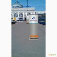 Реклама на Платформах ЖД Вокзала Одесса