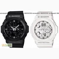 Спортивные мужские часы Casio G-Shock (черно-красные)