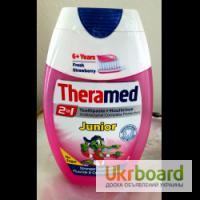 Детская зубная паста Theramed Junior 2in1, Бельгия
