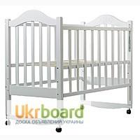 Продам Детская кроватка Дина (белая)