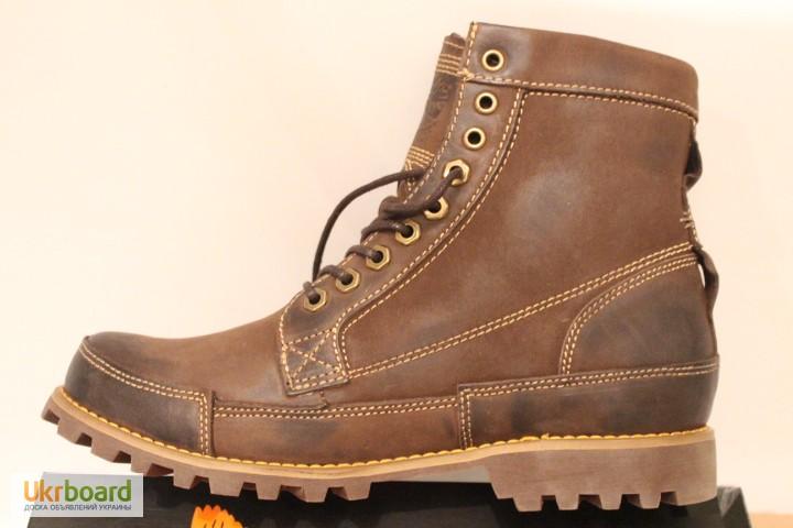 Ботинки Timberland коричневые (мех или ткань) 2c921e615b906