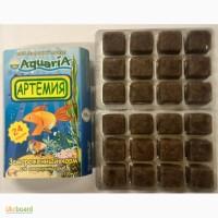 Замороженний корм для аквариумных рыб Артемия