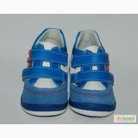 Кроссовки для мальчиков Солнце арт.LS895C бело-синий с красным