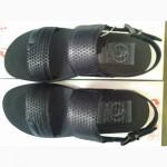 Мужские сандалии чёрные Bertoni СКИДКА