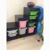 Стеллаж для хранения игрушек и никакого беспорядка дома