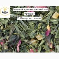 Феєрія зелений ароматизований чай