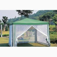 Садовый павильон-шатер с москитной сеткой 3 х 3 м