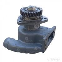 Насос водяной (помпа) МАЗ, КРАЗ (ЯМЗ-240) со шкивом | 240-1307010-А