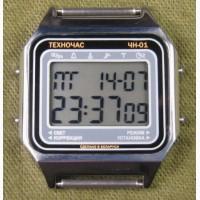 Часы ЭЛЕКТРОНИКА ЧН-01 с АЦНХ 5 мелодий арт.1134