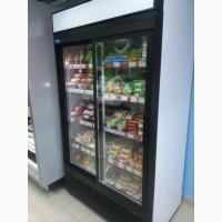 Шкаф холодильный новый со стеклянной дверью на 700 литров