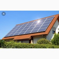 Сетевая солнечная электростанция мощностью 5 кВТ