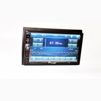 2din Магнитола Pioneer 7012 USB, SD, Bluetooth (короткая база)