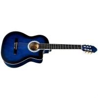 Классическая гитара BANDES 851С 39 дюймов с нейлоновыми или металл струнами с вырезом
