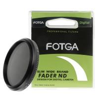 62 mm светофильтр нейтрально-серый с переменной плотностью Fotga Slim Fader ND2-400