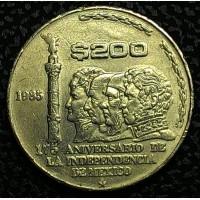 Мексика 200 песо 1985 год