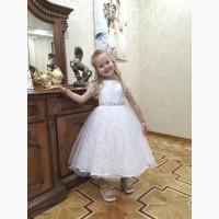 Нарядное платье Инга для девочек 4-5 лет