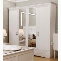 Шкаф 4х дверный Бланка с зеркалом