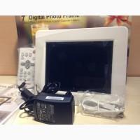 Цифровая фоторамка Transcend PF730 7 White ДУ фото рамка белая