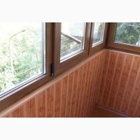 Ремонт, обшивка балкона