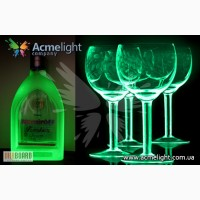 Светящаяся краска для стеклянных поверхностей Acmelight