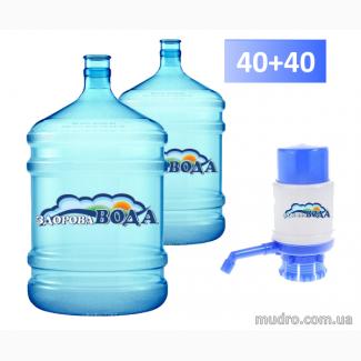 Вода бутилированная