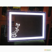 Зеркала под заказ со светодиодной подсветкой