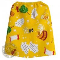 Парео для бани и сауны из цветной вафельной ткани, юбка килт для мужчин и женщин