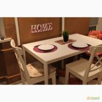 Обеденный стол (стол кухонный) новый белый ikea