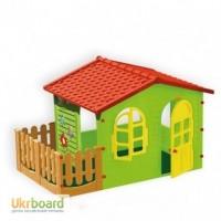 Домик для детей Mochtoys + оградка