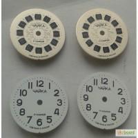 Циферблат круглый часы Чайка мех. 1601