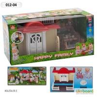 Домик Happy Family, флоксовые животные, в кор. 41 20, 5 17, 5см 012-04
