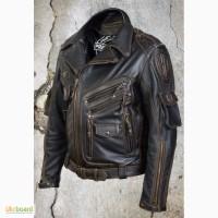 Мужская кожаная куртка Шторм 11