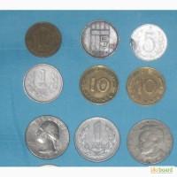 Монеты стран Европы и СССР Монеты есть разные. Дешево