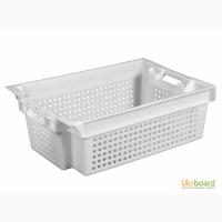 Пищевой пластиковый ящик 600х400х200