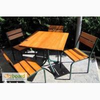 Мебель комплект для летней площадки 1 стол и 4 стула