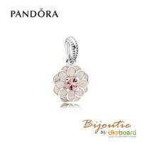 PANDORA шарм-подвеска ― цветение далии 791829NBP Оригинал Пандора