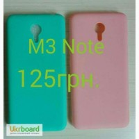 Силиконовый чехол на Meizu M3 note
