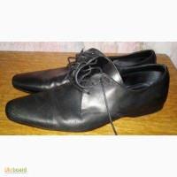 Кожаные туфли Zara, 42р, б/у