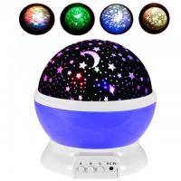 Вращающийся проектор Звездного неба Star Master Dream Rotating