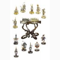Шахматы и нарды для подарка