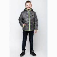 Демисезонная куртка для мальчика vkm-3 110-140 р