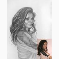 Заказать портрет по фотографии, Одесса. Нарисовать портрет по фото в Одессе