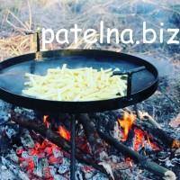 Сковорода для костра из диска, для жарки барбекю мангал жаровня гриль