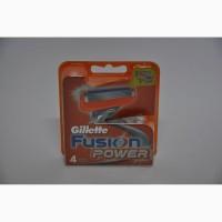 Сменные кассеты для бритья Gillette Fusion Power (4 шт)