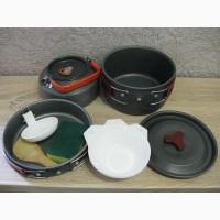 Продам набор туристической посуды с чайником для 2-3 чел. НОВЫЙ
